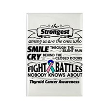 Thyroid Cancer Strongest Rectangle Magnet