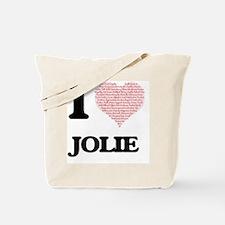 Funny Jolie Tote Bag