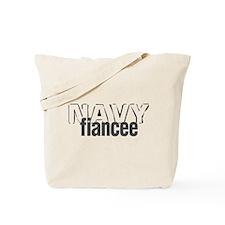 Navy Fiancee Tote Bag