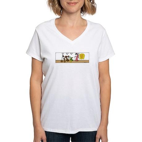No Evil Women's V-Neck T-Shirt