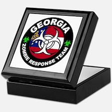 GA ZRT White Keepsake Box