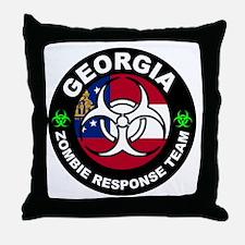 GA ZRT White Throw Pillow
