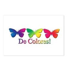 Butterfly DeColores Postcards (Package of 8)