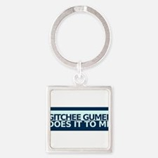 Unique Lake superior Square Keychain