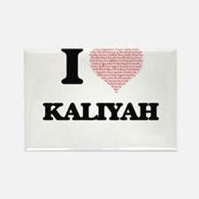 I love Kaliyah (heart made from words) des Magnets