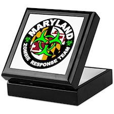 MD ZRT Green Keepsake Box