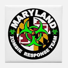 MD ZRT Green Tile Coaster