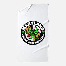 MD ZRT Green Beach Towel
