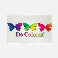 Butterfly DeColores Rectangle Magnet