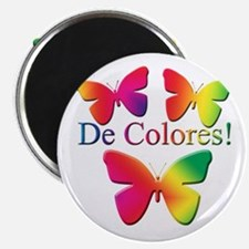 Butterfly DeColores Magnet