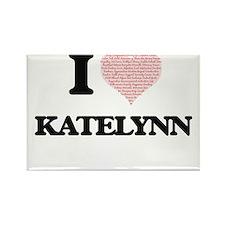I love Katelynn (heart made from words) de Magnets