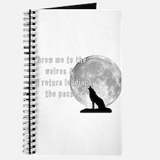 Unique Wolf moon Journal
