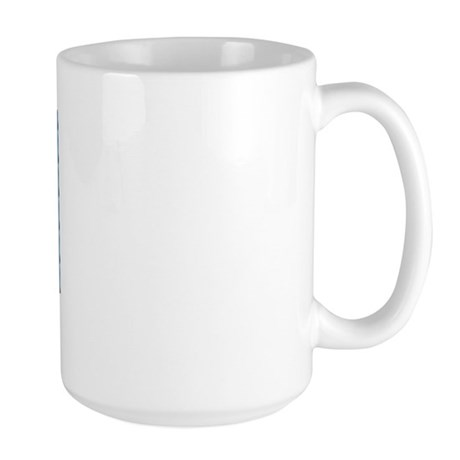 Milwaukee WI Flag Large Mug