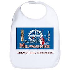 Milwaukee WI Flag Bib