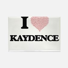 I love Kaydence (heart made from words) de Magnets
