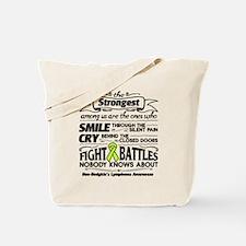 Non-Hodgkins Lymphoma Strongest Tote Bag