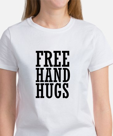 free hugs hand out