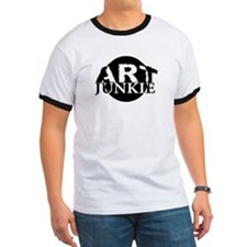 """""""Art Junkie"""" Ringer Shirt"""