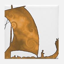 Viking Voyage Tile Coaster