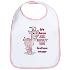 Goat About Me Bib