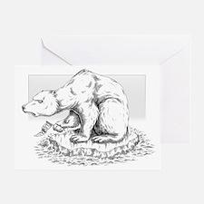 BiPolar Bear Christmas Card (single)