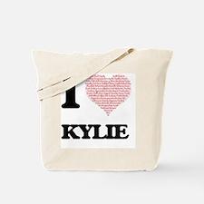 Cute Valentine kylie Tote Bag