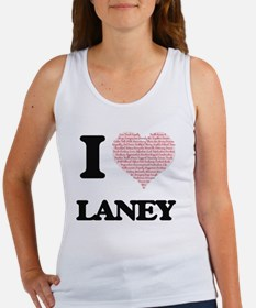 I love Laney (heart made from words) desi Tank Top