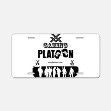 XXX Gaming Platoon Aluminum License Plate