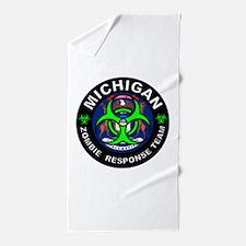 MI ZRT Green Beach Towel