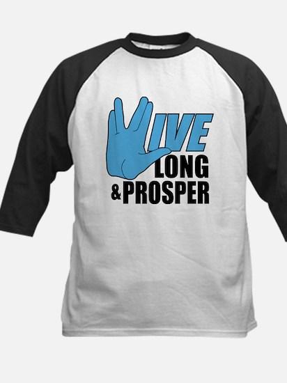 Live Long Prosper Kids Baseball Jersey