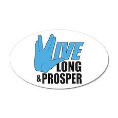 Live Long Prosper Wall Decal