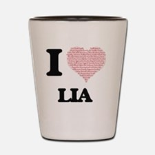 Funny Lia Shot Glass