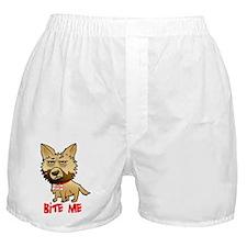 Funny Grumpy dog Boxer Shorts