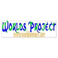 Worlds Project Bumper Bumper Sticker