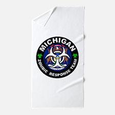 MI ZRT White Beach Towel