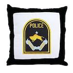 Omaha Nebraska Police Throw Pillow