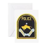 Omaha Nebraska Police Greeting Cards (Pk of 20)