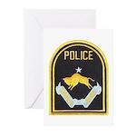 Omaha Nebraska Police Greeting Cards (Pk of 10)