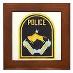 Omaha Nebraska Police Framed Tile