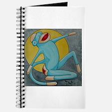 Bonnie Blue Sock Monkey Journal