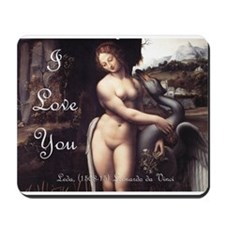 I Love You Gift Shop: Mousepad