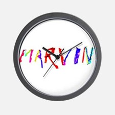 Marvin Personalized Wind Swept Wall Clock