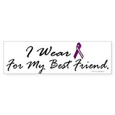 I Wear Purple 1 (Best Friend PC) Bumper Bumper Sticker