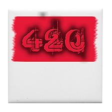 420 Stoner Tile Coaster