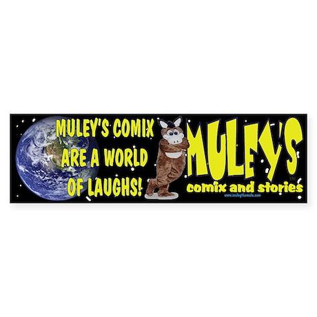 Muley Bumper Sticker
