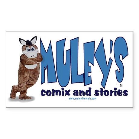Muley Comix Rectangle Sticker