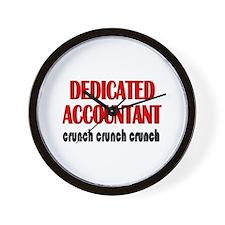 Dedicated Accountant Wall Clock