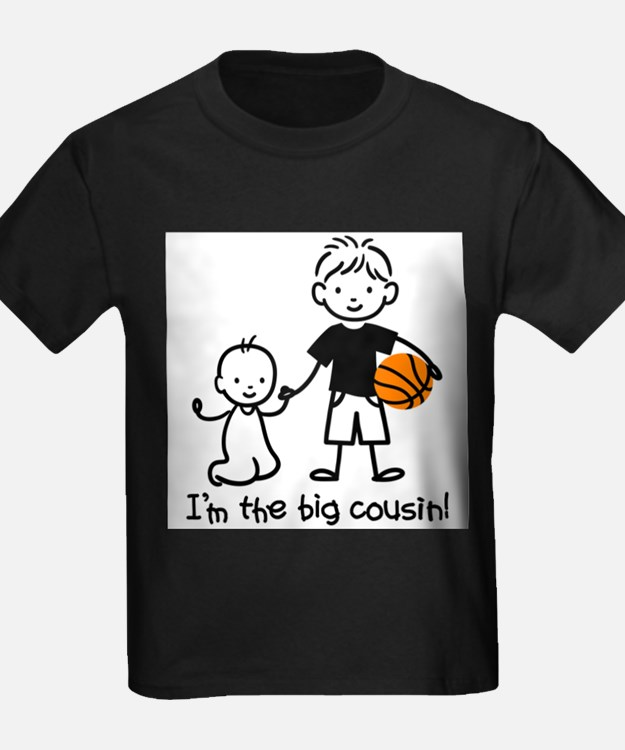 Cute Big brother basketball T