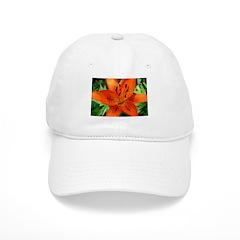 Orange Lily Baseball Cap