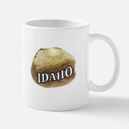 baked potato Idaho Mugs